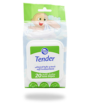 Tender - Nose Wipes for Babies