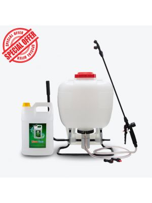 Disinfectant Backpack Sprayer + Micro Sana 4 L (concentrate)