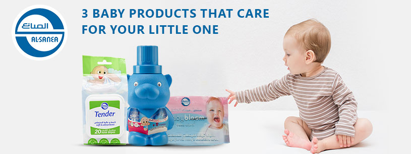 3 baby products that care for your little one