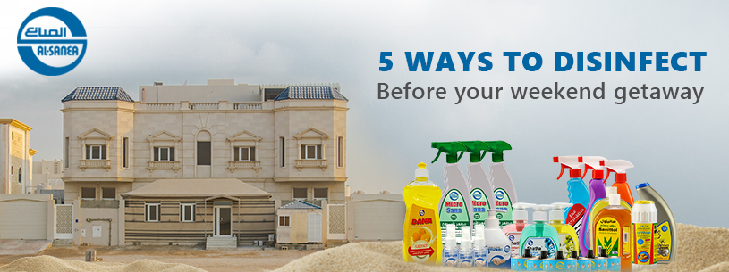 Protect your family with our Premium Chalet Disinfection Package.